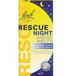 Rescue remedy liquid melts night capsules 28 pack