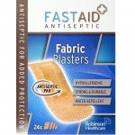 Fastaid plasters fabric 24 pack