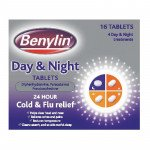 Benylin day & night cold treatment tablets 16 pack