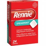 Rennie tablets spearmint 24 pack