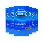 Durex contraceptive sheaths Intense 6 pack