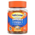 Haliborange omega-3 + multivitamin softies 30 pack