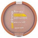Rimmel face make-up Sunshimmer compact powder medium matte 11g