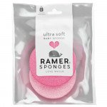 Ramer baby sponge ultra soft 2 pack