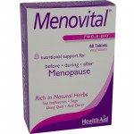 Healthaid lifestyle range Menovital tablets 60 pack