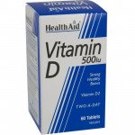 Healthaid vitamin D supplements vitamin D tablets 500iu 60 pack