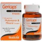 Gericaps multivitamin & mineral capsules 30 pack