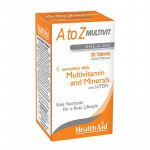 Healthaid multivitamin & mineral supplements A-Z tablets 30 pack