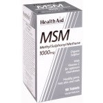 Healthaid mineral supplements MSM tablets 90 pack