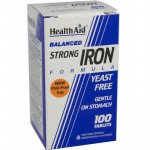 Healthaid mineral supplements strong iron formula tablets 100 pack