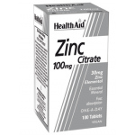 Healthaid mineral supplements zinc citrate tablets 100 pack