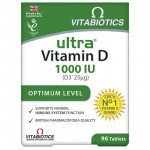 Ultra vitamin D3 tablets 96 pack