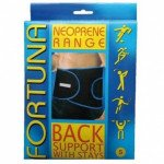 Fortuna Disabled Aids supports neoprene supports back back small
