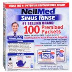 Neilmed adult nasal irrigation refill mixture sachets 120 pack