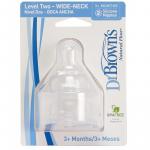 Dr browns teats level 2 2 pack