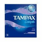 TAMPAX compak tampons lite 18