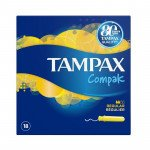 TAMPAX compak tampons regular 18