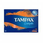 TAMPAX compak tampons super plus 18