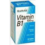 Healthaid vitamin B supplements B1 90 pack
