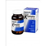 Healthaid vitamin K complex plus vit D3 30 pack