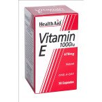 Healthaid vitamin E supplements Vit E capsules 1000iu 30 pack