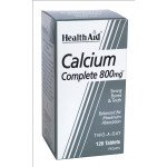 Healthaid mineral supplements calcium complete tablets 800mg 120 pack