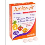 Healthaid multivitamin & mineral supplements JuniorVit tablets 30 pack