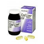Healthaid supplements cod liver oil one-a-day capsules 1000mg 60 pack