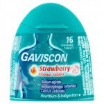 Gaviscon 250 tablets strawberry (handy pack) 16 pack