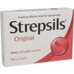Strepsils lozenge original 16 pack