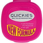 Quickies nail varnish remover pads 20 pack