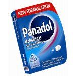 Panadol advance tablets 500mg 16 pack