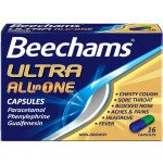 Beechams all-in-one Ultra capsules 16 pack