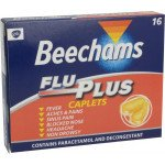 Beechams flu plus caplets 16 pack