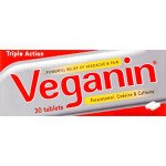 Veganin tablets 30 pack