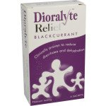 Dioralyte relief oral rehydration therapy sugar-free sachets blackcurrant 6 pack