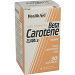 Healthaid vitamin A & D supplements natural beta-carotene capsules 15mg 30 pack