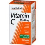 Healthaid vitamin C supplements vit C prolonged release  tablets 1500mg 30 pack