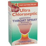 Ultra chloraseptic anaesthetic throat spray cherry 0.71% 15ml