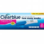 Clearblue pregnancy test kit digital 2 pack