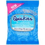 Quickies eye make-up remover pads 30 pack