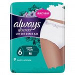 Always incontinence range Discreet pants plus medium 9