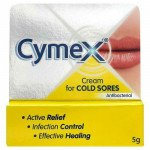 Cymex Cream Cold Sores Antibacterial 5g