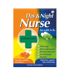 DAY & NIGHT NURSE capsules 7.5mg/500mg/500mg/5mg/10mg/30mg 24