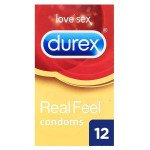 Durex Condoms Real Feel - 12 Pack