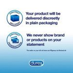 Durex contraceptive sheaths Invisible Extra Sensitive 6 pack