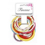 Finesse Coloured Elastics Assorted A