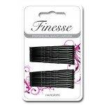 Finesse Hairgrips - Black 4.5cm