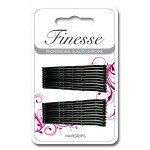 Finesse Hairgrips - Black 4.5cm A