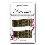 Finesse Hairgrips - Brown4.5cm A